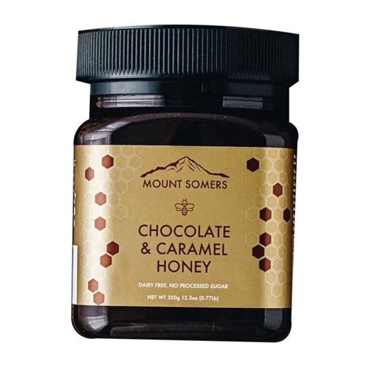 Mount Somers Chocolate & Caramel Honey - 350g