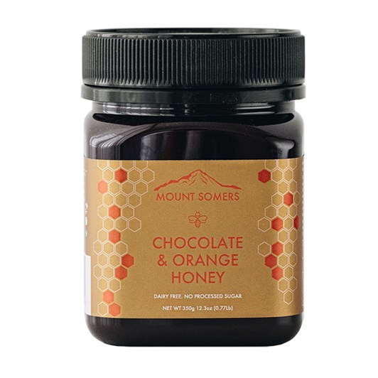 Mount Somers Chocolate & Orange Honey - 350g