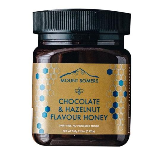 Mount Somers Chocolate & Hazelnut Honey - 350g