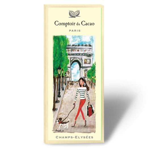 Comptoir Du Cacao Champs Elysees Chocolate Bar 80g