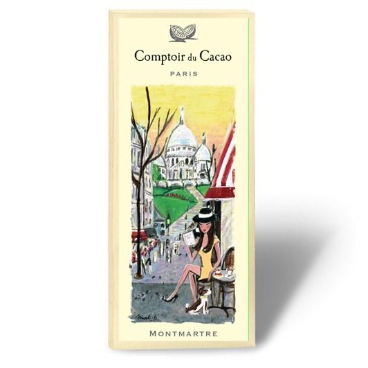 Comptoir Du Cacao Montmarte Chocolate Bar 80g