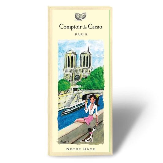 Comptoir Du Cacao Notre Dame Chocolate Bar 80g