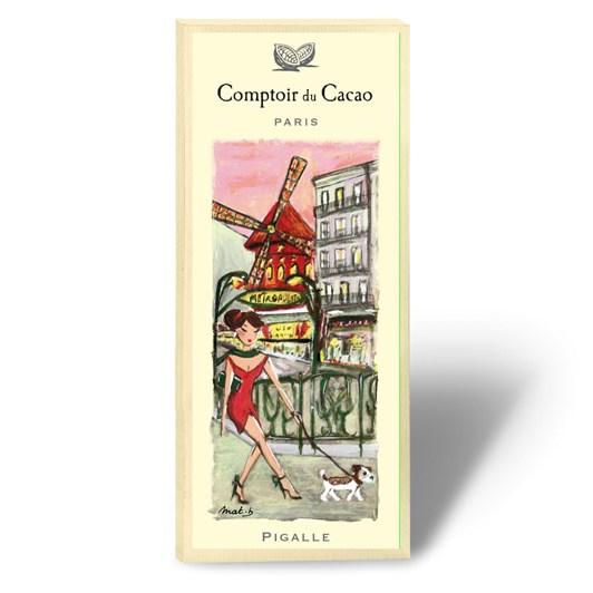 Comptoir Du Cacao Pigalle Chocolate Bar 80g
