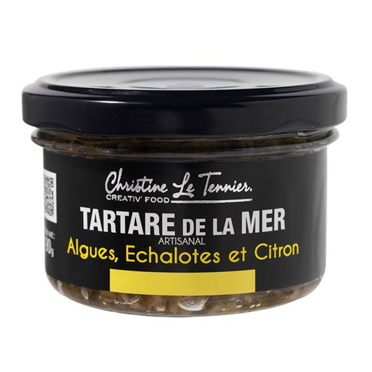 Christine Le Tennier Seaweed Tartar With Shallots & Lemon 90g