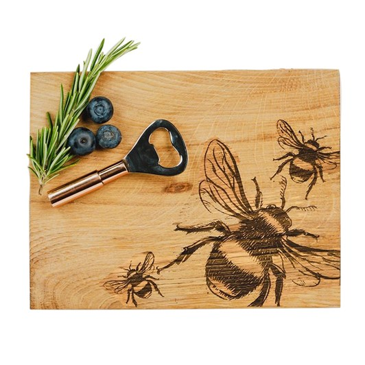 Just Slate Bee Cheese Board