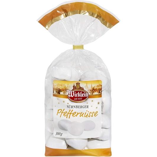 Wicklein Pfeffernuesse White Glazed Gingerbread 300g