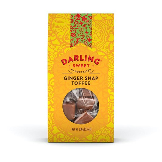 Darling Sweet Ginger Snap Toffee 150g