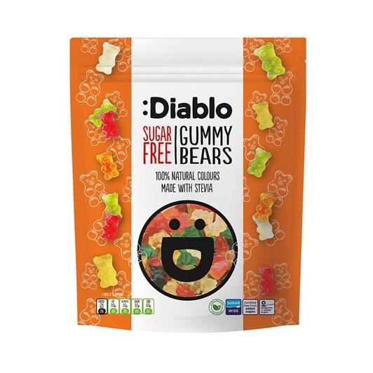 Diablo Sugar Free Gummy Bear Sweets 75g