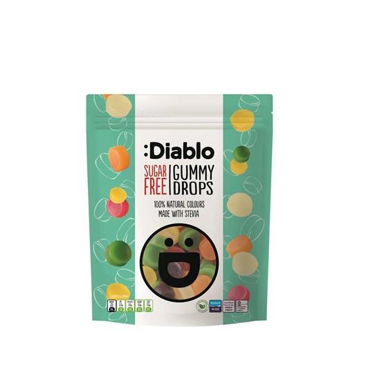Diablo Sugar Free Gummy Drop Sweets 75g