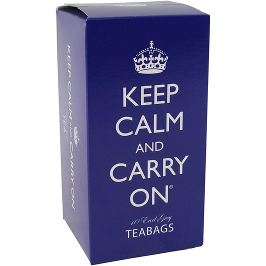 British Blue Tea Carton 40 Earl Grey Teabags 80g