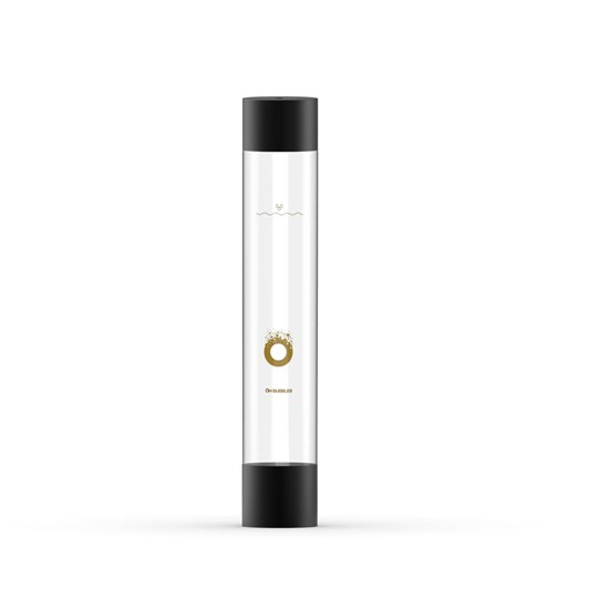 Oh Bubbles Spare Bottle With Black Lid 1L