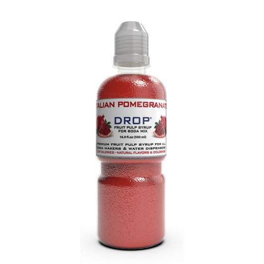 Oh Bubbles Drop Italian Pomegranate Fruit Pulp Mix 500ml
