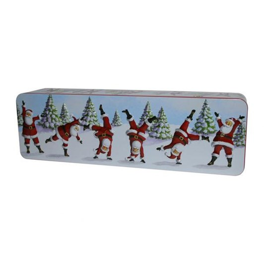 Grandma Wilds Dancing Santas With Clotted Cream Shortbread 200g