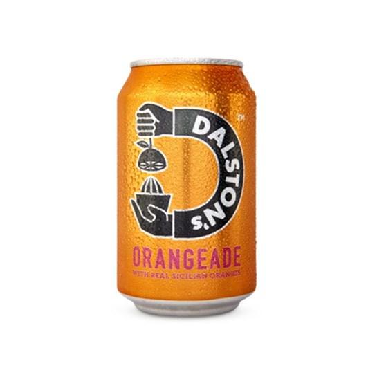 Dalston's Real Orangeade 330ml Can