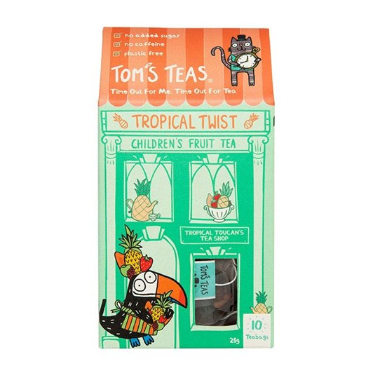 Tom's Teas Tropical Twist Children's Fruit Tea