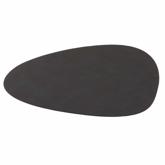 Lind Dna Table Mat Nupo Black Curve L 37X44Cm
