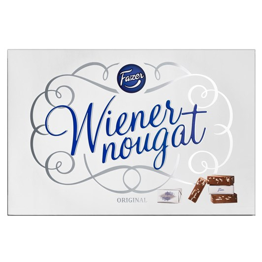 Fazer Wienernougat, 210G, Box (Vegan)