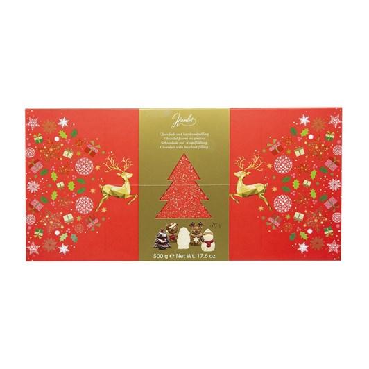 Hamlet Colourful Christmas Figures With Hazelnut Filling 500g