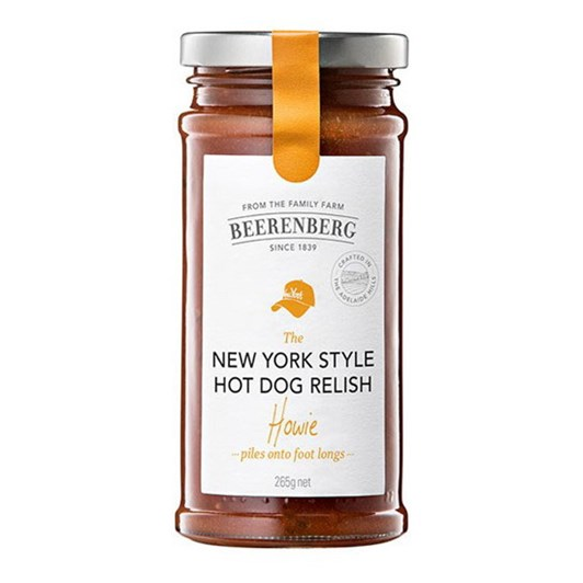 Beerenberg New York Hot Dog Relish 280g