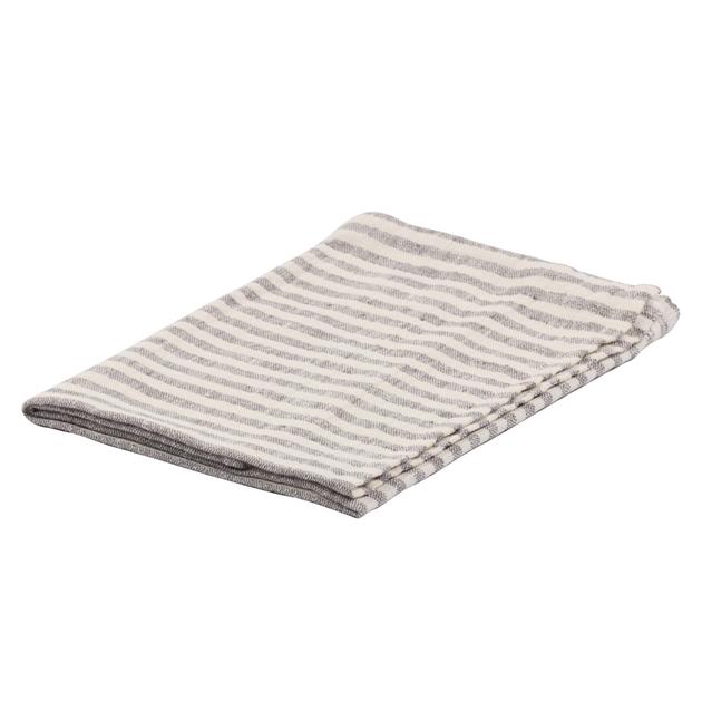 Ottoman Linen Brittany Tea Towel - graphite