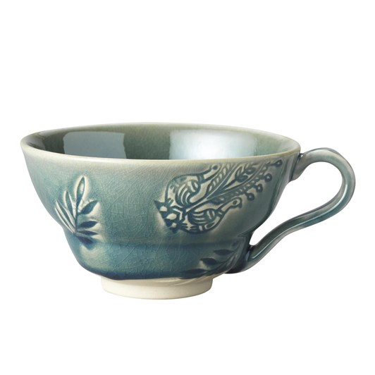 Arabesque Cup With Handle (H 67Mm D 125Mm)