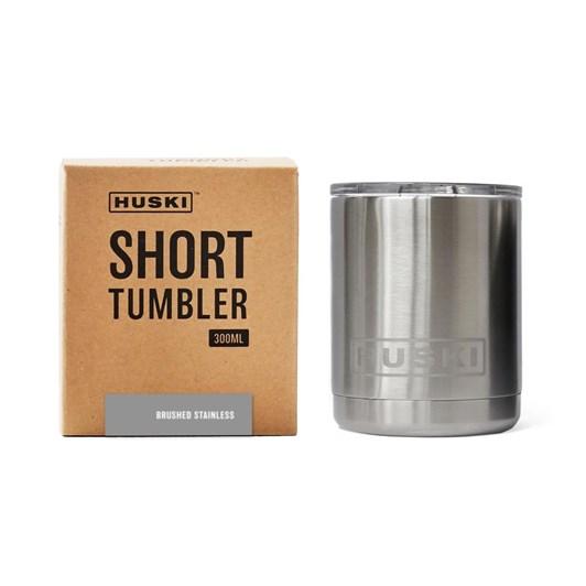 Huski Short Tumbler - Brushed Stainless