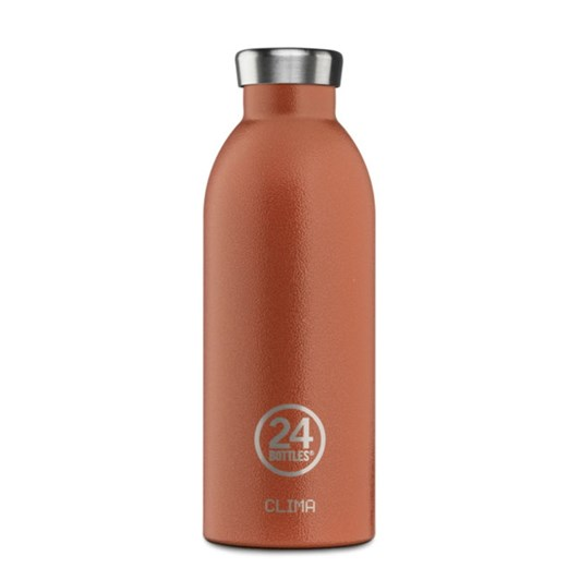 24 Bottles Sunset Orange Clima Bottle 0.5L