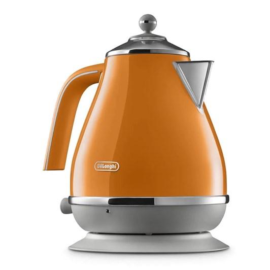 DeLonghi Icona Capitals Kettle - Orange