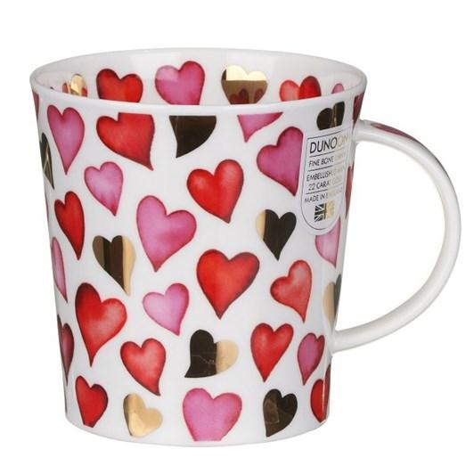 Dunoon Lomond Lovehearts Red Mug