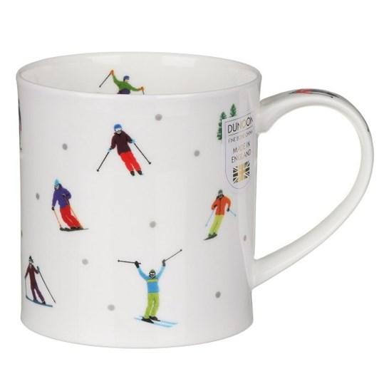 Dunoon Orkney Sporting Stars Skiing Mug