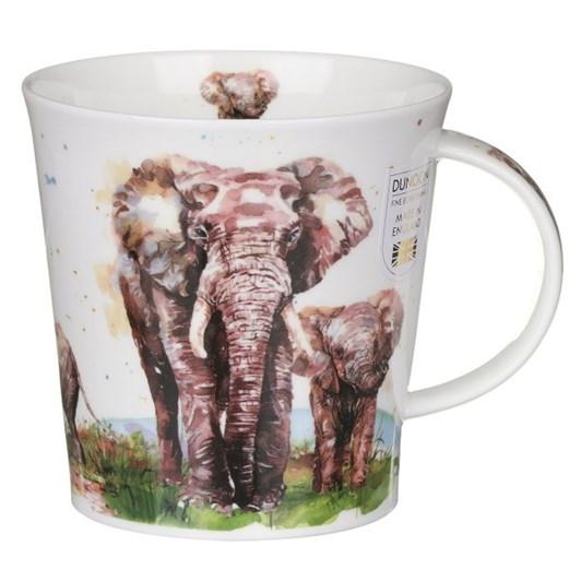 Dunoon Cairngorm Serengeti Elephant Mug