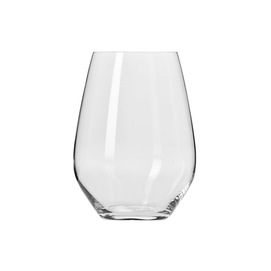 Krosno Harmony Stemless Wine Glass 540ml Set Of 6 Gift Boxed