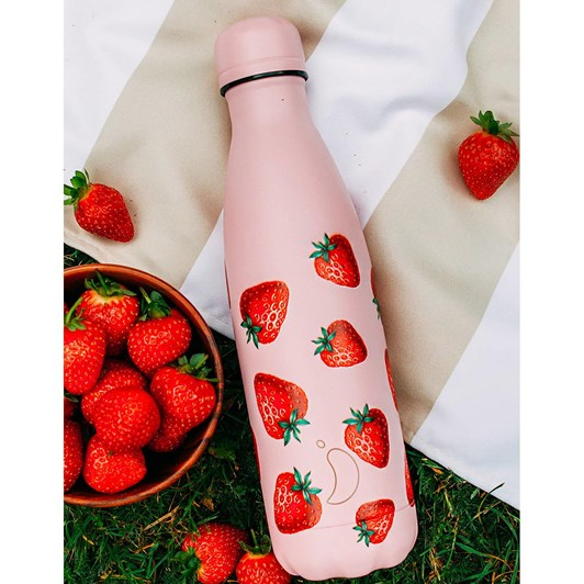 Chilly's Insulated Bottle Icons Strawberry 500ml