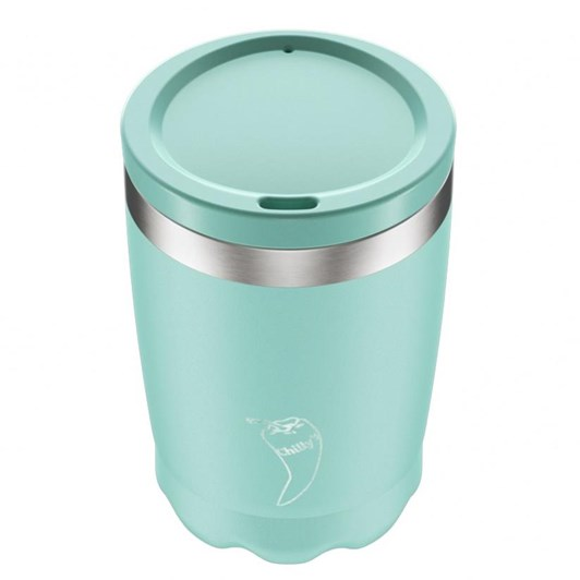 Chilly's Coffee Cup Double Wall Pastel Green/Turq 340ml