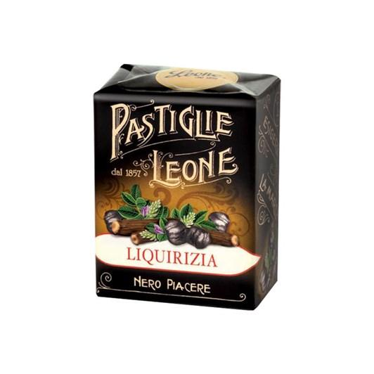 Leone Liquorice Pastilles Box 25g