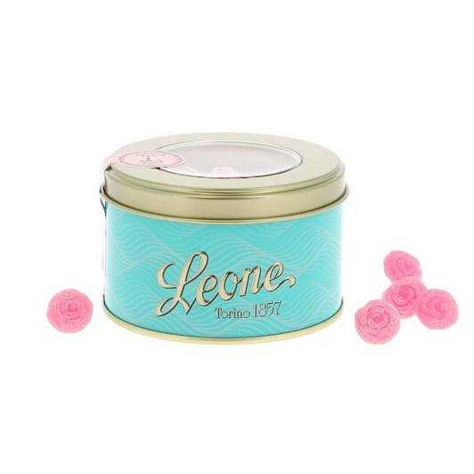 Leone Rose Candy Metal Box 150g