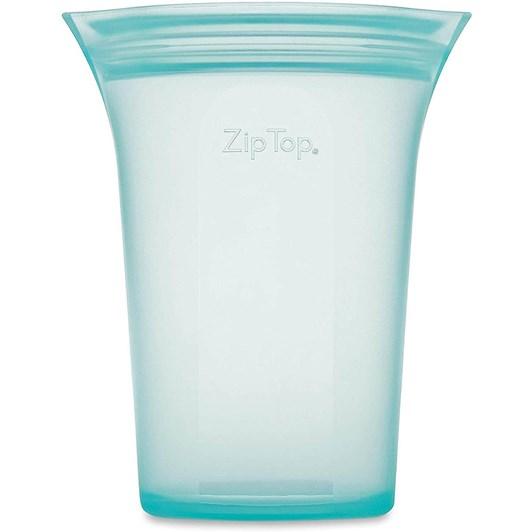 Zip Top Large Cup 710ml Teal
