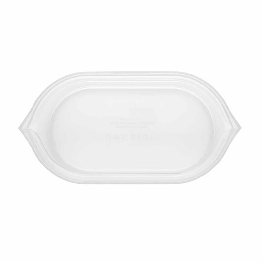 Zip Top  Dish Small 437ml Frost