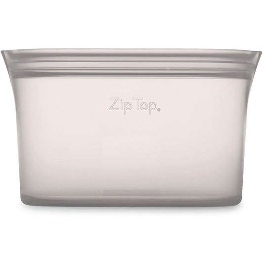 Zip Top  Dish Small 437ml Grey