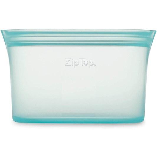 Zip Top  Dish Small 437ml Teal