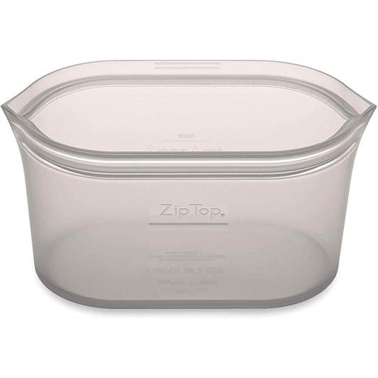Zip Top  Dish Medium 710ml Grey