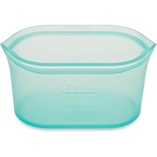 Zip Top  Dish Medium 710ml Teal