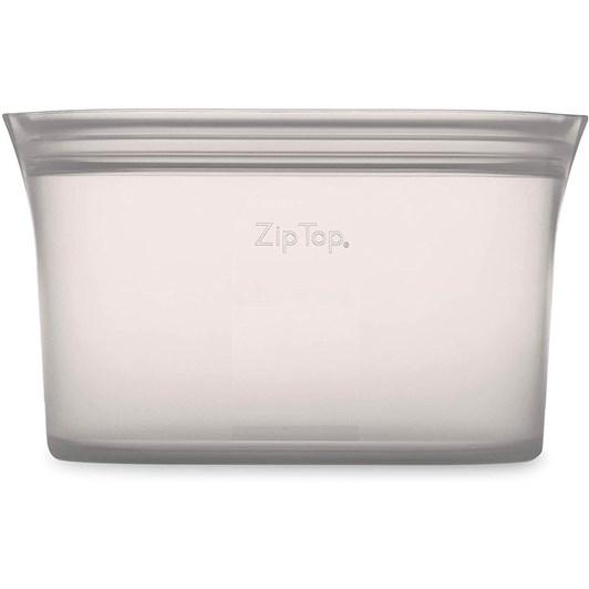 Zip Top  Dish Large 946ml Grey