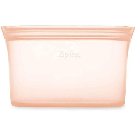 Zip Top  Dish Large 946ml Peach