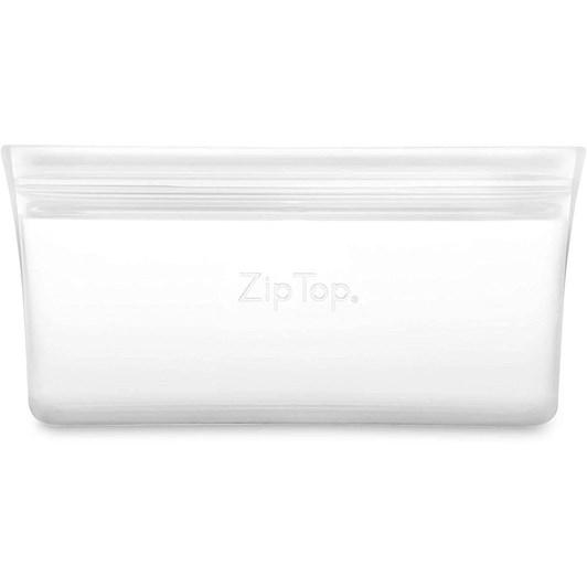 Zip Top  Snack Bag 118ml Frost
