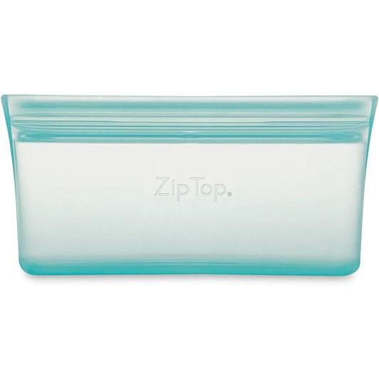 Zip Top  Snack Bag 118ml Teal
