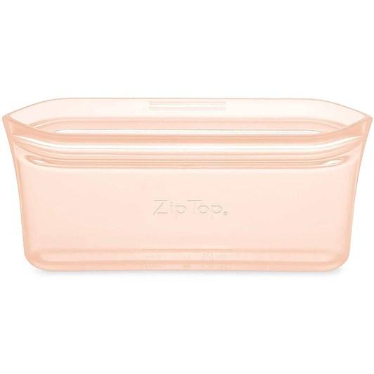 Zip Top  Snack Bag 118ml Peach