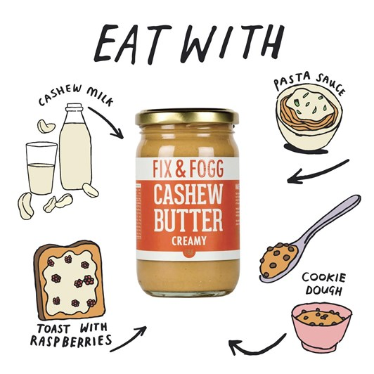 Fix and Fogg Cashew Butter 275g