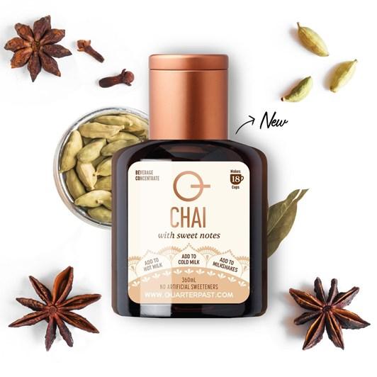 QuarterPast Chai Syrup - 360ml