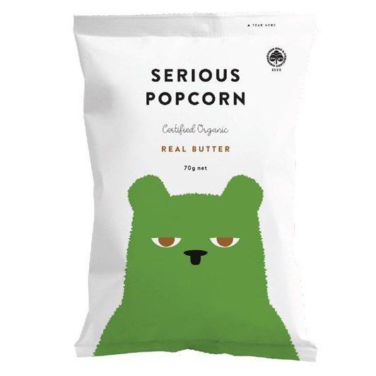 Serious Popcorn 70gm - Real Butter